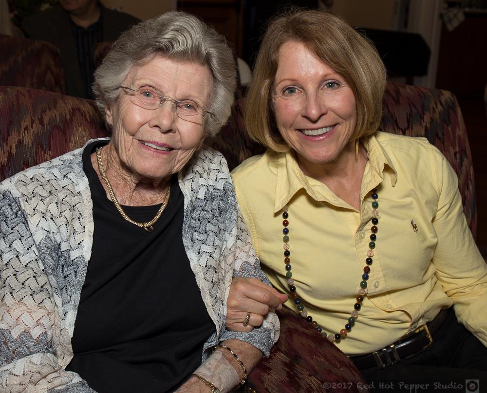 ANNIE MORIEN PHOTO_Mary Ann Cofrin with daughter Mary Ann