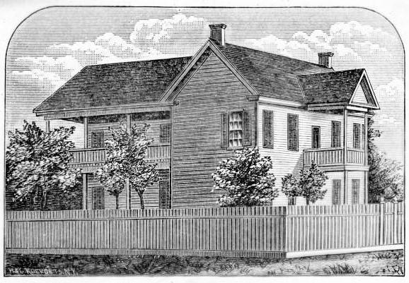 Ambrose House Sketch- 1883