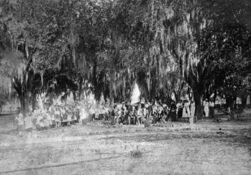 Micanopy Cemetery Memorial Day Ceremony- 1918